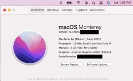 Am Running my Mac OS Monterey Beta and IOS 15 Beta